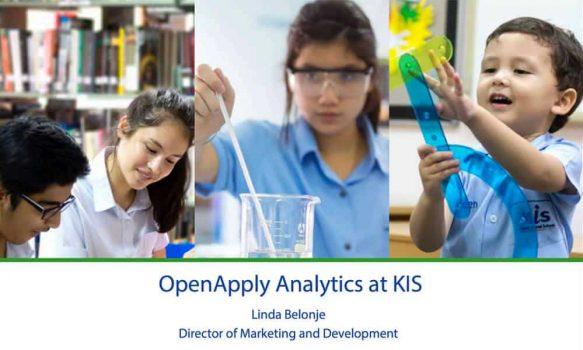 [WEBINAR] Analytics for International School Admissions